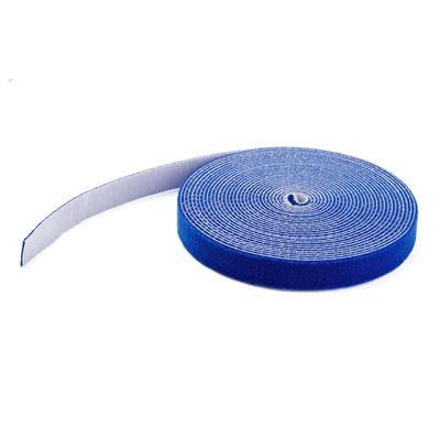 StarTech.com 30,4 m klittenband blauw Kabelbinder