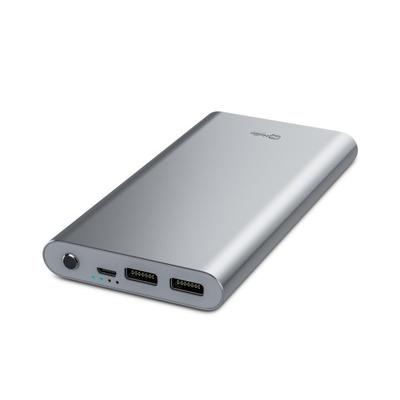 BeHello 7800 mAh, zilver, Aluminium, 2.4A Powerbank