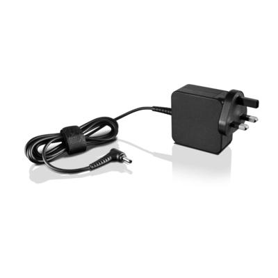 Lenovo 45W AC Wall Adapter - UK/Ireland Netvoeding - Zwart
