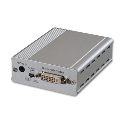 Lindy DVI-D to 3G SDI Converter/Extender Kabel adapter - Zilver