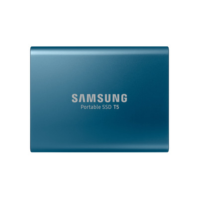 Samsung 250GB T5 extrenal Blue SSD