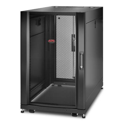 """APC NetShelter SX AR3106 18U 600mm(b) x 1070mm(d) 19"""" IT met zijpanelen Rack - Zwart"""