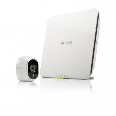 Netgear beveiligingscamera: Arlo VMC3130 - Wit
