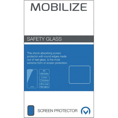 Mobilize Glas, Screenprotector voor Microsoft Lumia 640 LTE Screen protector - Transparant