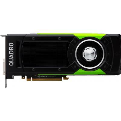 Hp videokaart: NVIDIA Quadro P6000 (24-GB) grafische kaart - Zwart