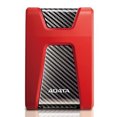 Adata externe harde schijf: 2TB HDD, USB 3.1, DC 5V, 900mA, 390g, Red - Blauw
