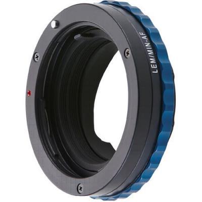 Novoflex LEM/MIN-AF NT Lens adapter - Zwart, Blauw