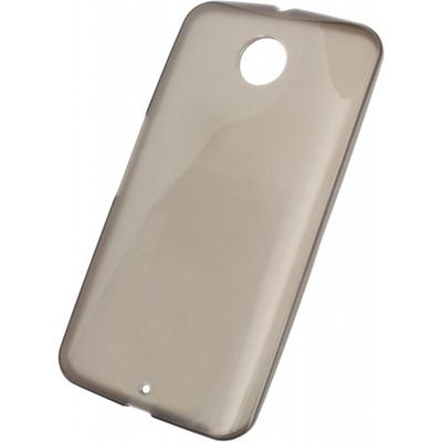 Mobilize Gelly Case Smokey Grey Motorola Google Nexus 6 Mobile phone case - Grijs, Doorschijnend