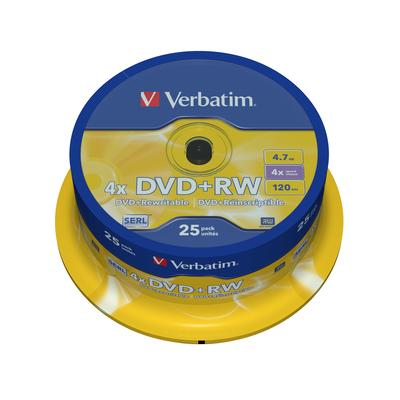 Verbatim DVD: DVD+RW Matt Silver