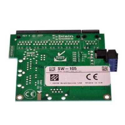 Brainboxes Industrial Embeddable 5 Port Ethernet Switch