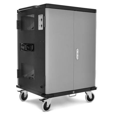 V7 Charge Cart - 36 Devices - Schuko Power portable device management carts & cabinet - Zwart