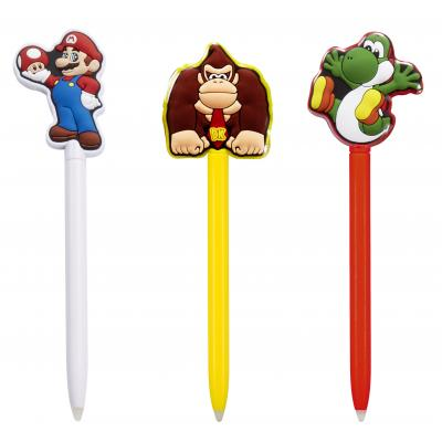 Bigben interactive game assecoire: Big Ben, 3 Official Mario Stylus (New 3DS / New 3DS XL / 3DS / 3DS XL / 2DS)