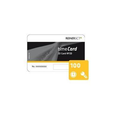 Reiner sct access card: timeCard Chipkarten 100 (DES)