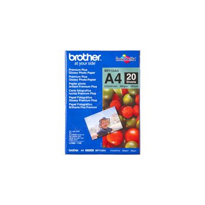 Brother BP71GA4 Fotopapier - Blauw, Rood