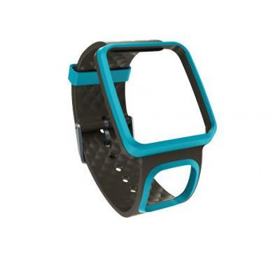 Tomtom horloge-band: Comfortabele horlogeband - Slank (turquoise) - Turkoois