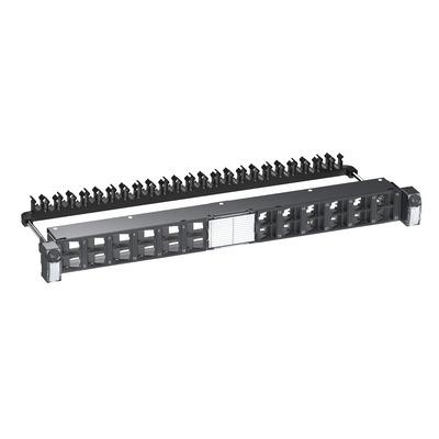 "Schneider Electric Actassi 19-C Flat Angled 19"" 1U 24pt S-One FTP/STP Empty Patch panel - Zwart"
