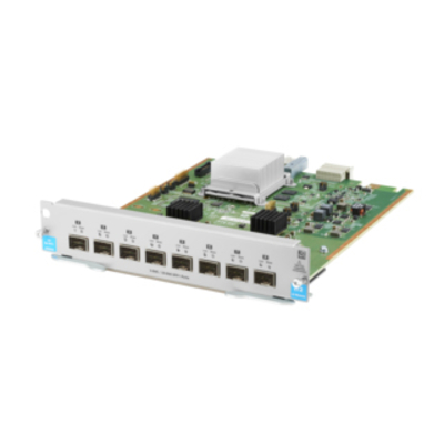 Hewlett packard enterprise netwerk switch module: 8-port 1G/10GbE SFP+ MACsec v3 zl2 Module