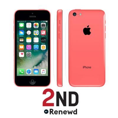 2nd by renewd smartphone: Apple iPhone 5C refurbished door 2ND - 16GB Roze (Refurbished AN)