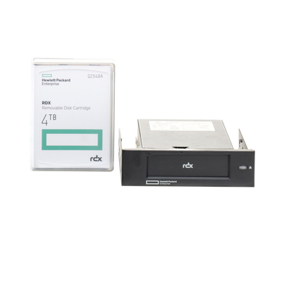 HP RDX 4TB USB 3.0 Internal Tape drive - Zwart