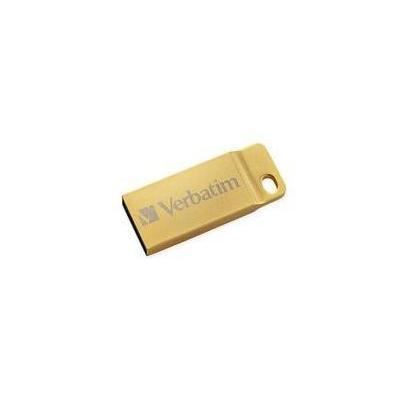 Verbatim USB flash drive: 64GB Metal Executive USB 3.0 Flash Drive – Gold - Goud