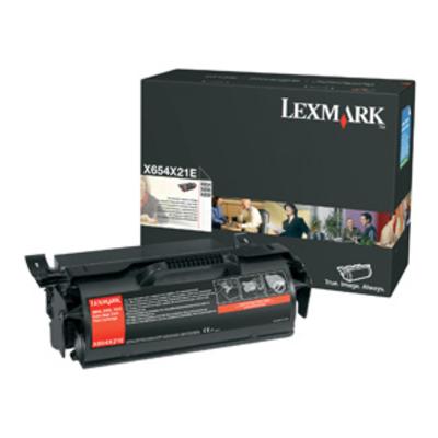 Lexmark X654X21E cartridge