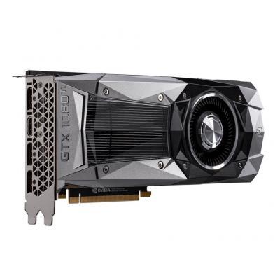 Msi videokaart: GeForce GTX 1080 Ti Founders Edition - Zwart, Grijs