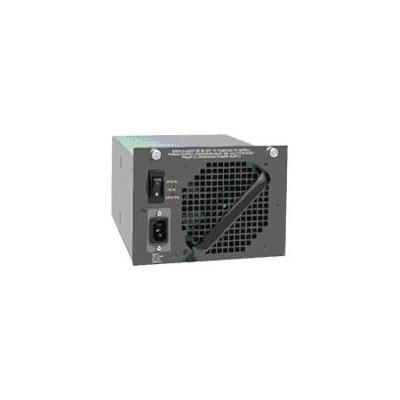 Cisco power supply unit: Catalyst 4500 1400W DC Power Supply Redundant w/Int PEM - Zwart