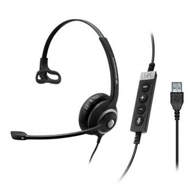Sennheiser headset: SC 230 USB CTRL II - Zwart