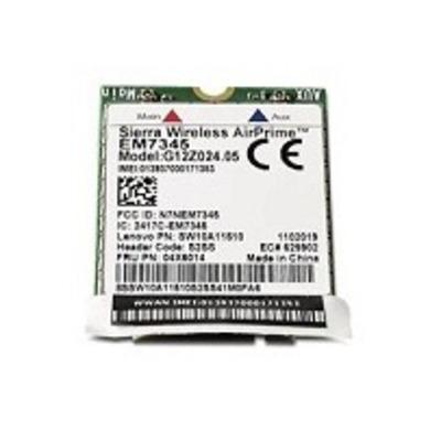 Lenovo netwerkkaart: ThinkPad EM7345 4G LTE - Multi kleuren