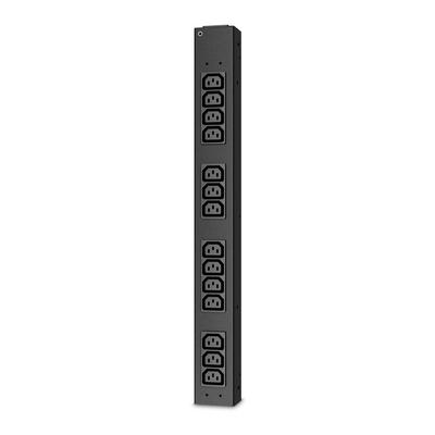 APC Rack PDU, Basic, 0U/2U, 16A, 230V, (14x) C13 Energiedistributie - Zwart
