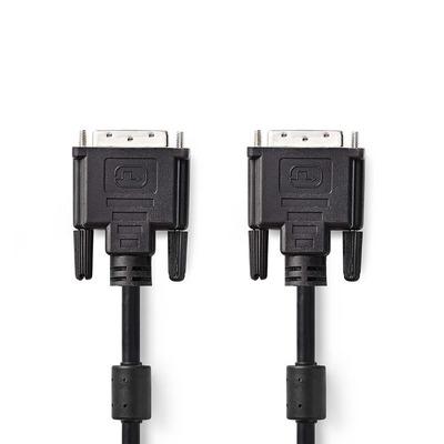 Nedis CCGP32000BK30 DVI kabel  - Zwart