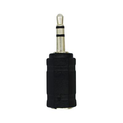 LogiLink 3.5mm/2.5mm Kabel adapter - Zwart