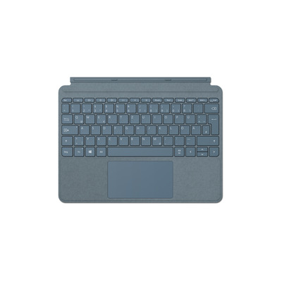 Microsoft Surface Go Type Cover - QWERTZ Mobile device keyboard - Blauw