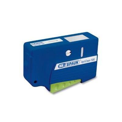 Spaun : OptiClean 500 - Blauw, Groen