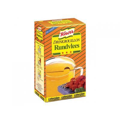 Knorr voedingswaar: Drinkbouillon rundvlees/pk 80