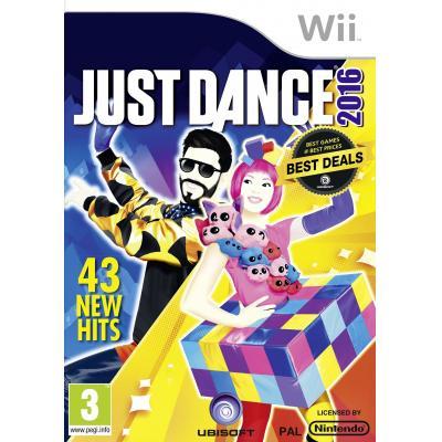 Ubisoft game: Just Dance 2016  Wii