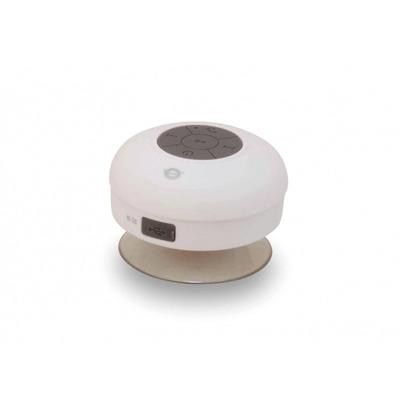 Conceptronic Bluetooth 3.0, 100 - 20000 Hz, IPX4, 400 mAh, 130 g Draagbare luidspreker - Grijs, Wit