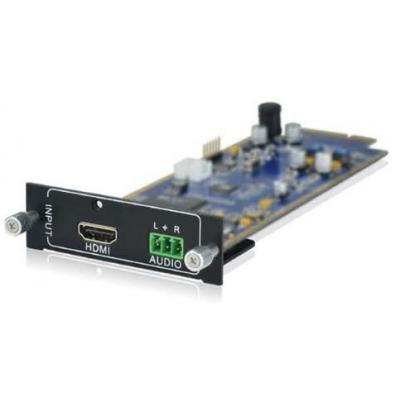 PTN-Electronics Seamless HDMI + audio inputkaart Interfaceadapter - Zwart