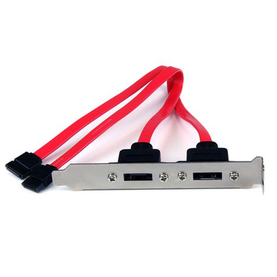 StarTech.com 2-Poort SATA naar eSATA Slotplaatje Bracket ATA kabel
