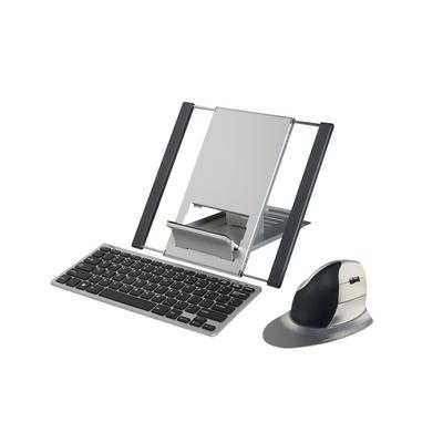 Ergoline Traveller Toetsenbord - Zwart, zilver