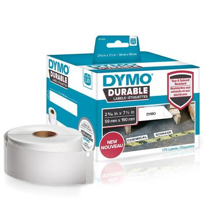 DYMO LW - LW Durable Labels - 59 x 190 mm - 1933087 Etiket - Wit