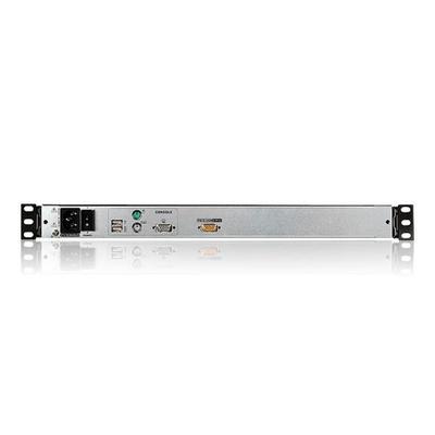 Aten CL5800N - QWERTZ Rack console - Zwart