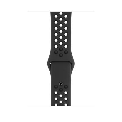 Apple Sportbandje van Nike - Antraciet/zwart (44 mm) - S/M en M/L - Antraciet,Zwart