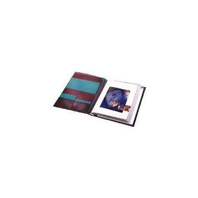 Rillstab album: Ambassasdeur display book A4 - Zwart