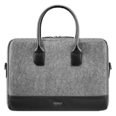 """Mobilis Origine Briefcase 14-16"""" - Grey Laptoptas"""