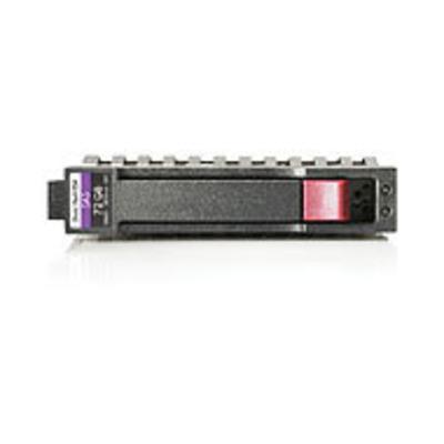 Hewlett Packard Enterprise 1TB 6G SAS SFF Interne harde schijf - Zwart