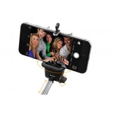 Technaxx : Selfie Stick Monopod BT-X13 - Zwart, Zilver