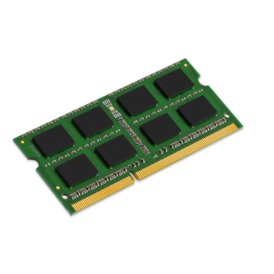 Kingston technology RAM-geheugen: System Specific Memory 4GB DDR3L 1600MHz Module - Zwart, Groen