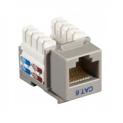Black Box CAT6 Keystone Jack 25pk Kabel connector - Grijs