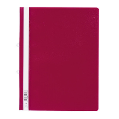 Durable Clear View Folder Stofklepmap - Rood